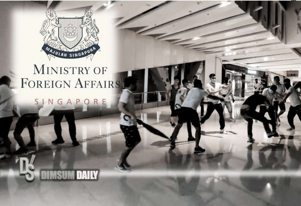The Ministry of Foreign Affairs of Singapore issues new travel